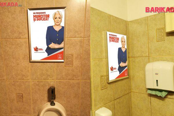 dancila campanie wc