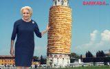 dancila turnul din pizza