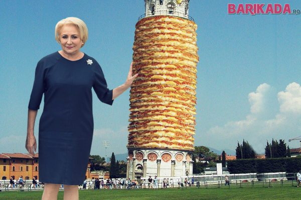 dancila turnul din pizza