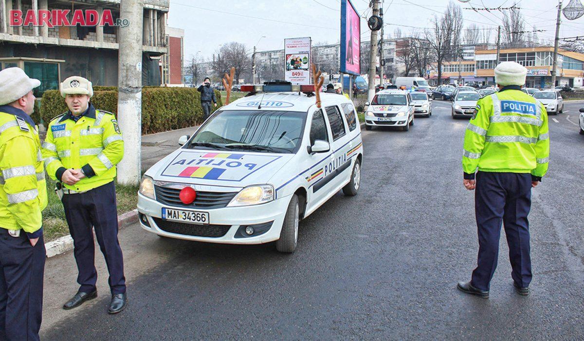 politisti masina coarne ren