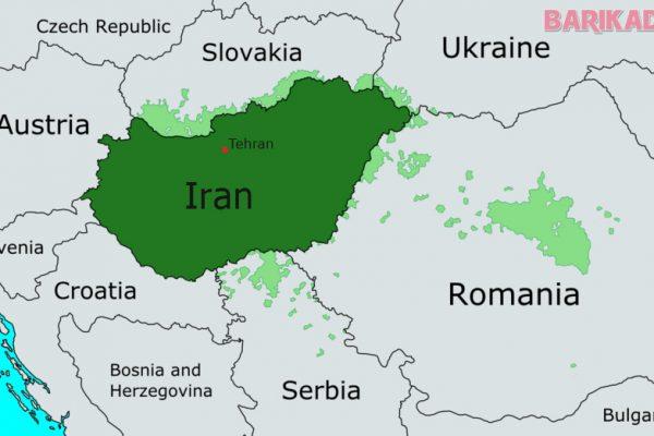 harta iranului