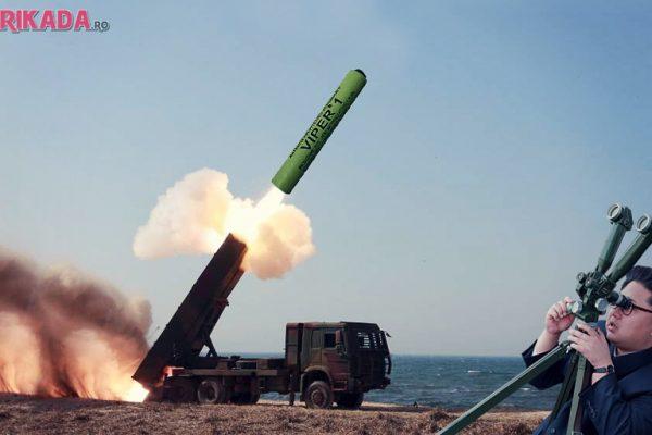 lansator petarde corea de nord