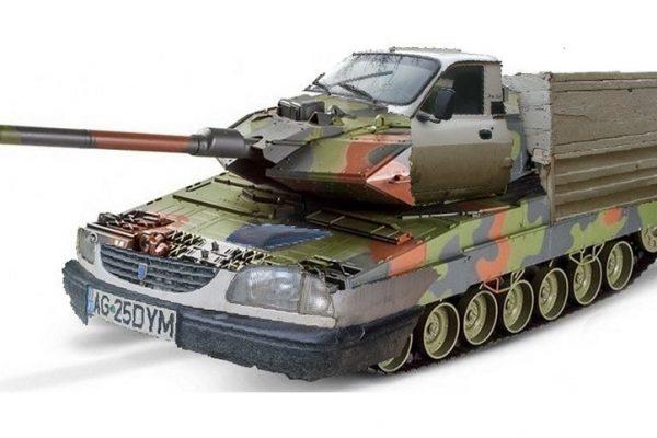 tanc romanesc