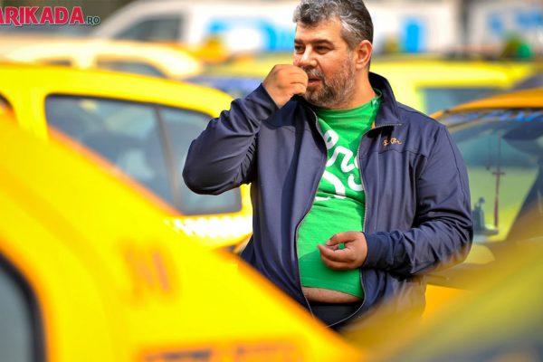 marcel ciolacu luptator taxi uber