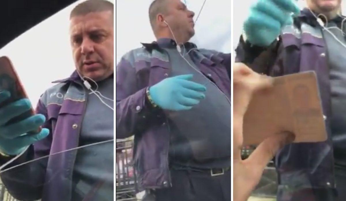 politist-pahontu