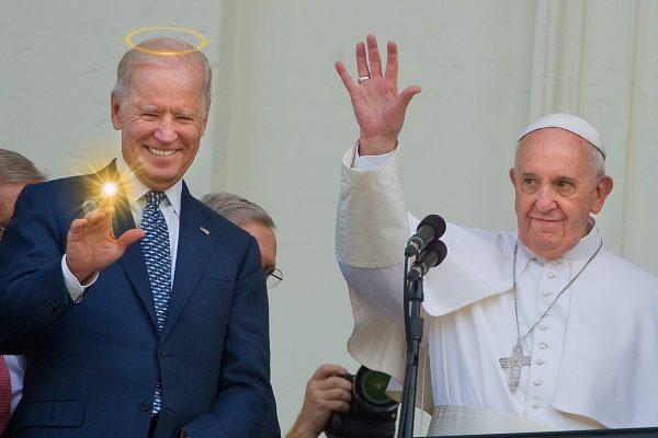 papa francisc biden