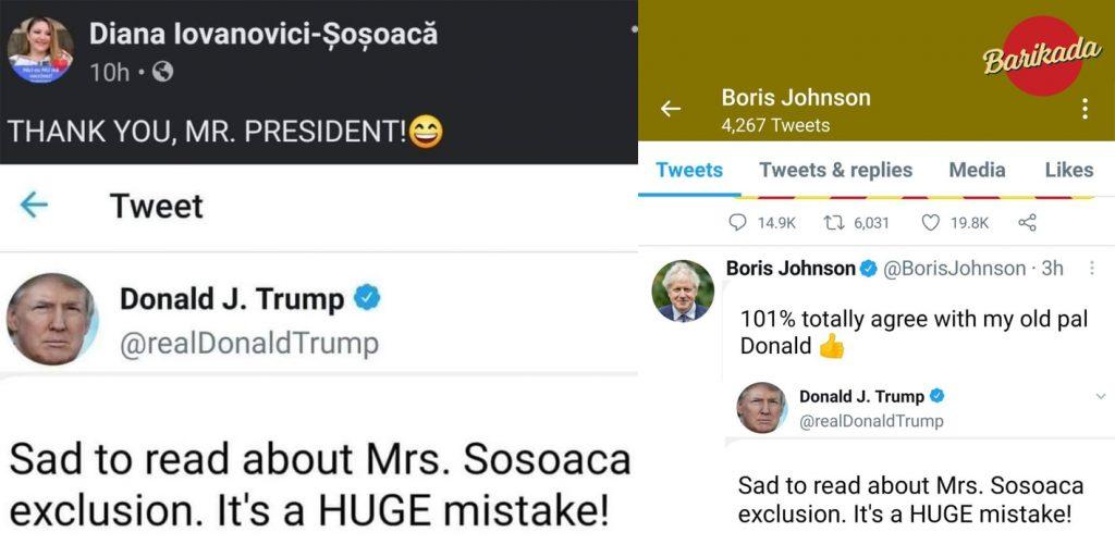 sosoaca ironie