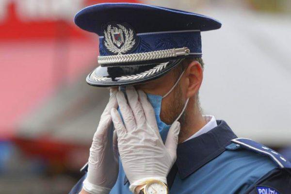 polițist bucureștean a fost prins la pensat în timpul serviciului.