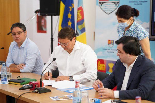 consiliul judetean ialomita contract spital