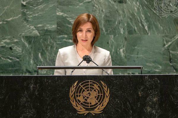 maia sandu discurs onu retragere transnistria