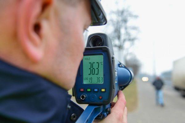 termometru politie circulatie pistoale radar valul 4