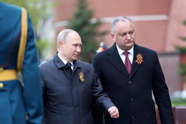 igor dodon sluga rusiei felicitari putin